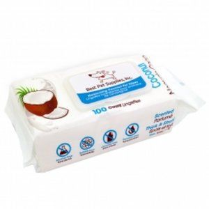 Scented Moisturizing Coconut Pet Wipes